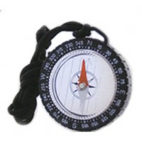 Adventure Map Compass with Lanyard