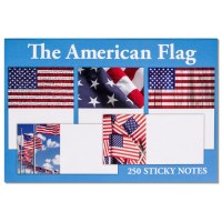 American Flag Sticky Notes