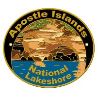 Apostle Islands National Lakeshore Hiking Stick Medallion