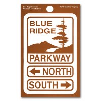 Blue Ridge Parkway Decal