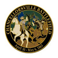 Chancellorsville Battlefield Hiking Stick Medallion