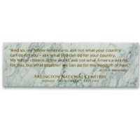 John F. Kennedy Inaugural Address Quote Magnet