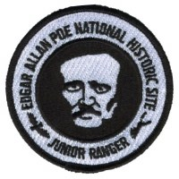 Edgar Allan Poe National Historic Site Junior Ranger Patch