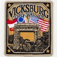 Vicksburg National Military Park Patch