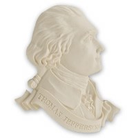 Thomas Jefferson Collectable Magnet