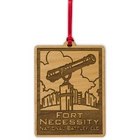 Wooden Fort Necessity ANP Ornament