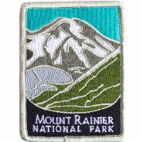 Mount Rainier National Park Patch