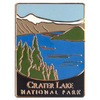 Crater Lake National Park Pin