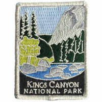 Kings Canyon National Park Patch
