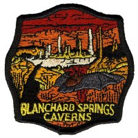Blanchard Springs Caverns Embroidered Patch