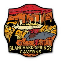 Blanchard Springs Caverns Lapel Pin
