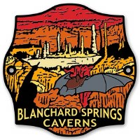 Blanchard Springs Caverns Hiking Stick Medallion