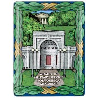 Women in Military Service for America Memorial Magnet
