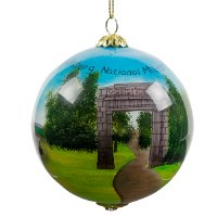 Vicksburg National Military Park Holiday Ornament