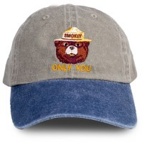 Smokey Bear ONLY YOU Twill Youth Cap