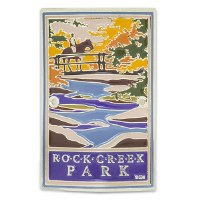 Rock Creek Park Hiking Stick Medallion