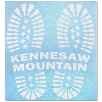 Kennesaw Mountain Boots Decal