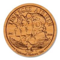 Tuskegee Airmen Wooden Magnet