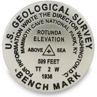 Replica 1936 USGS Mammoth Cave Magnet