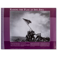 Raising the Flag at Iwo Jima Poster