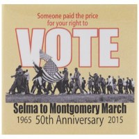 "Selma ""Vote"" Pin"