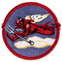 Tuskegee Airmen 302nd Fighter Squadron Patch