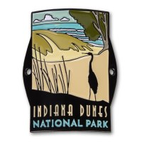 Indiana Dunes 50th Anniversary Hiking Medallion
