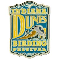 Indiana Dunes Bird Festival Pin