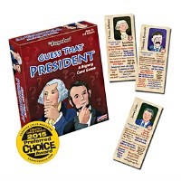 Guess That President Card Game