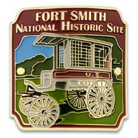 Fort Smith National Historic Site Hiking Medallion