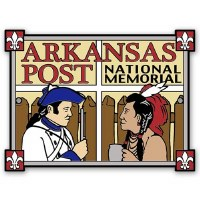 Arkansas Post Hiking Stick Medallion