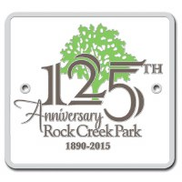 Rock Creek Park 125th Anniversary Hiking Medallion