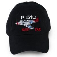 Tuskegee Airmen P-51C Red Tail Cap