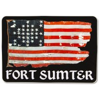 Fort Sumter Flag Sticker