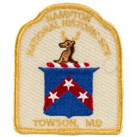 Hampton National Historic Site Patch: Stag's Head Crest