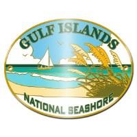 Gulf Islands National Seashore Hiking Stick Medallion