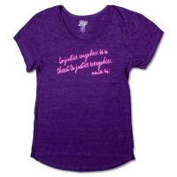 Martin Luther King, Jr. Quote Ladies T-Shirt