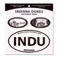 Indiana Dunes National Lakeshore Triple Decal
