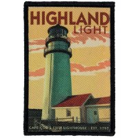 Highland Lighthouse Retro Patch