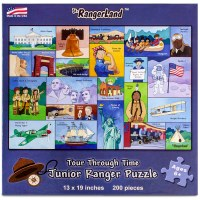 Tour Through Time Junior Ranger Puzzle
