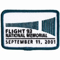 Flight 93 National Memorial Embroidered Patch - Wall of Names