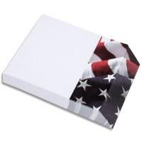 American Flag Angle Notepad