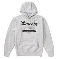 Lincoln Memorial Gray Hoodie