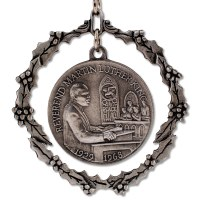 Martin Luther King Jr. Pewter Ornament