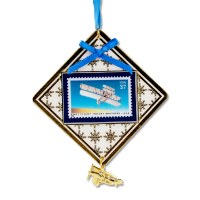 First Flight Commemorative Centennial Stamp Ornament