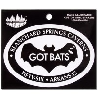 Blanchard Springs Caverns Decal