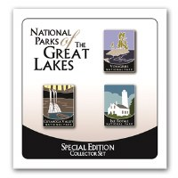 National Parks of the Great Lakes Pins - Special Edition Collector Set