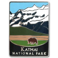 Katmai National Park Pin