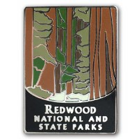 Redwood National and State Parks Pin
