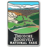 Theodore Roosevelt National Park Pin